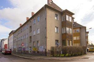 Günstige Mieten ade? Die Häuser Ecke Teichstraße Mühlholzgasse sollen saniert werden.